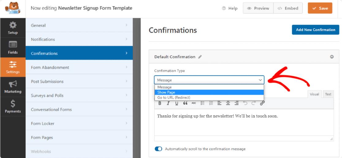 ایجاد فرم اشتراک Mailchimp در وردپرس
