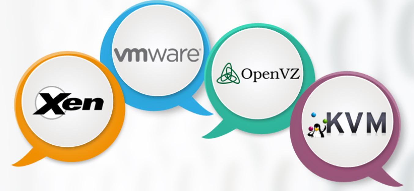 تفاوت مجازی ساز های XEN ، VMware ، OpenVZ ، KVM