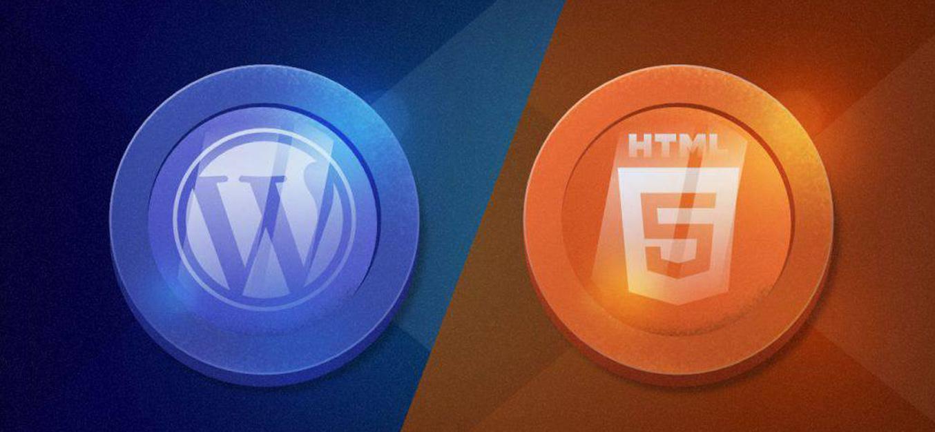 WordPress یا HTML ؟ آیا هر سایتی را با وردپرس راه اندازی کنیم ؟