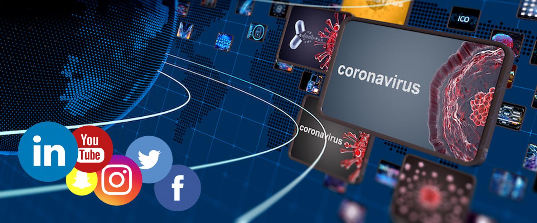 اقدامات رسانه های اجتماعی در دوران شیوع ویروس کرونا