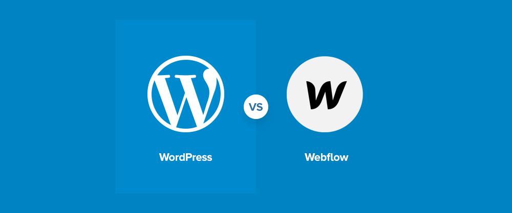 مقایسه Webflow با WordPress - کدام یک بهتر است؟