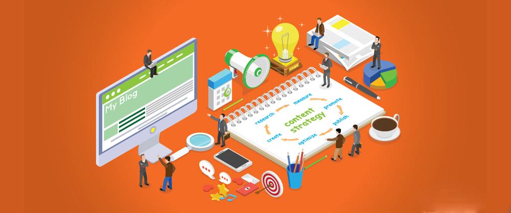 نحوه ایجاد یک استراتژی تولید محتوا برای وبلاگ