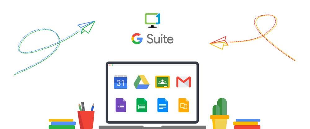 5 مزیت برتر G Suite برای تجارت آنلاین شما